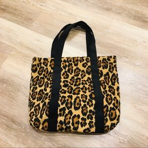 Leopard Animal Print Carry All Tote Bag
